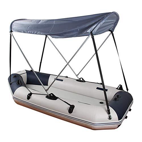 MAGT Bootszelt, Schlauchboot Kajak Sun Shelter Regensicher Segelboot Markise Top Cover Zelt Faltbarer Sonnenschutz Baldachin Top Kit
