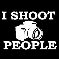 ステッカー剥がし 14.9CM * 10.6CM I撮影者のカメラデカールビニールブラック/シルバーカーステッカー ステッカー剥がし (Color Name : Silver)