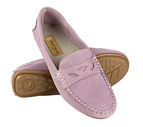 Zerimar Mocasines Vestir   Mocasines de Mujer Piel   Loafers para Mujer Casuales   Mocasines Clasicos para Mujer   Loafers Mocasines Cuero   Mocasines Elegantes