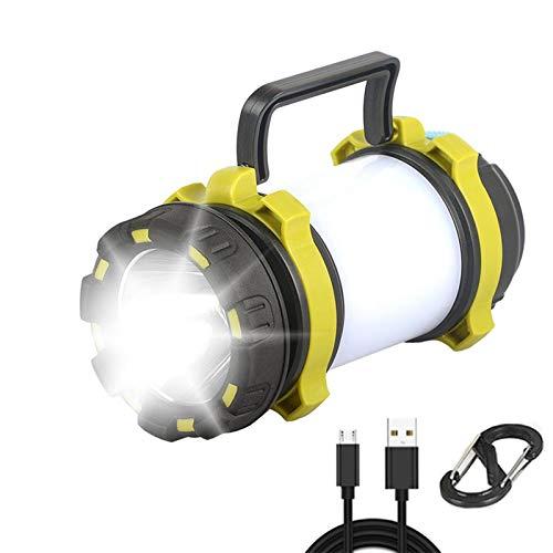8000LM LED Camping Laterne USB Wiederaufladbare Taschenlampenlaterne für Hurricane Emergency Wiking Angeln mit Batterien