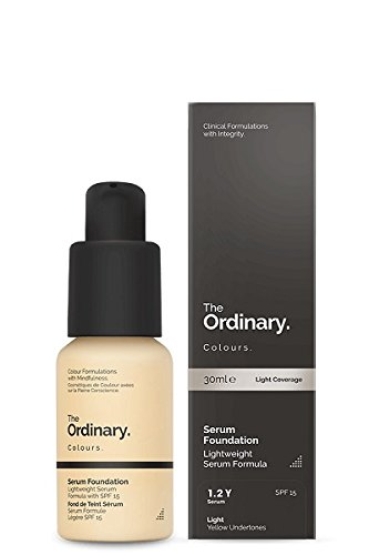 The Ordinary Serum Foundation 30ml (1.2YG Light Yellow Undertones with Gold Highlights)