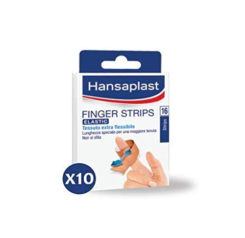 Hansaplast Aqua Protect Hand- en vingerpleister in verschillende formaten, 10 verpakkingen à 16 stuks