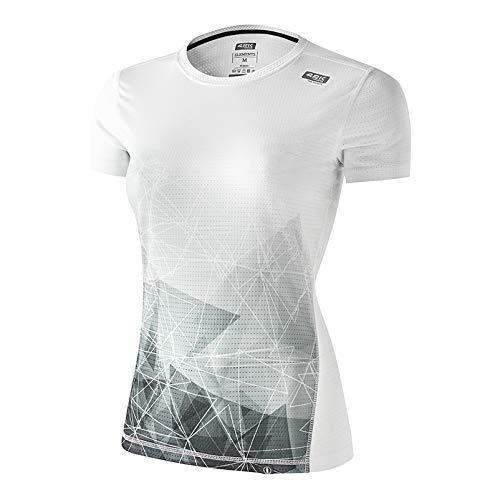 42K RUNNING - Camiseta técnica Elements 100% Reciclada 100% Reciclada Mujer Air L