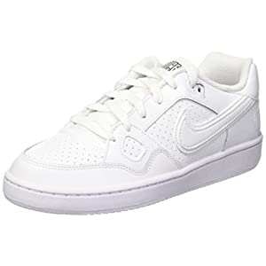 NIKE KIDS SON OF FORCE (GS) ALL WHITE SIZE 4