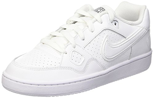 Nike Jungen Son of Force Low-Top, Weiß (White/White-White), 38 EU