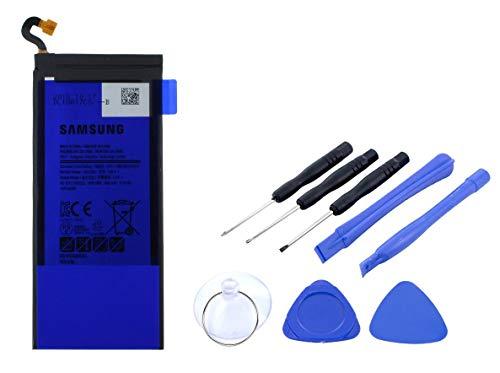2in1-SET Akku für Samsung Galaxy S6 Edge PLUS - Ersatzakku Li-Ion mit 3000mAh inklusive Werkzeug Set