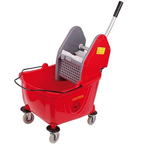 Rojo 24l porteros de limpieza
