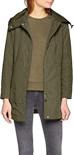 Geox W Airell Giacca, Verde (Spring Olive F3456), 40 Donna