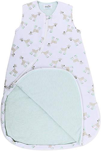 Purflo Baby-Schlafsack, Jersey, 6-18 Monate, 2,5 Tog, Giraffenmotiv