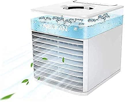Ventiladores de aire acondicionado, Electrodomésticos, portátil, Nexfan Fan de Evered Ventilador de Evered USB Pequeño espacio personal Radiador y humidificador, refrigeración de escritorio con mango