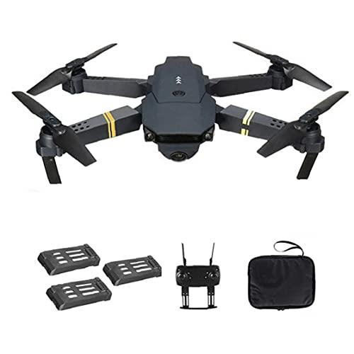 Drone Quadcopter E58 WiFi FPV Mini Quadcopter 4K Camera pieghevole Drone supporto di ritorno automatico con 3Batteries di squisita fattura,