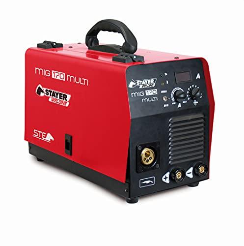 Stayer 1.1404 Equipo de Soldadura Inverter Industrial mag MIG 170 Multi