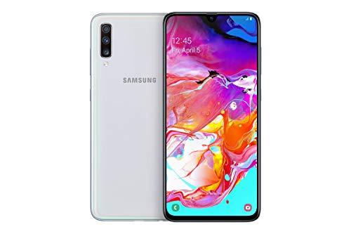 Samsung Galaxy A70 - Smartphone (17.0cm (6,7 Zoll) 128GB interner Speicher, 6GB RAM, Dual Sim, Weiß) - Deutsche Version