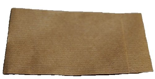 Papiertüten braun flach 9,5x13cm (1000St.) von BLÜHKING®