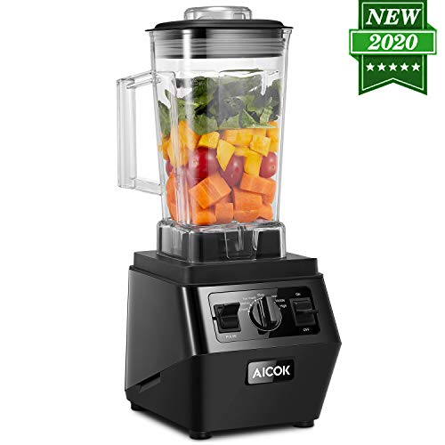 Kitchen Blender for Shakes and Smoothies Frozen Drink Maker High Capacity Countertop Blender Professional with BPA Free Pitcher and Spigot, 1400 watt 70 oz Self Cleaning Frozen Drink Maker