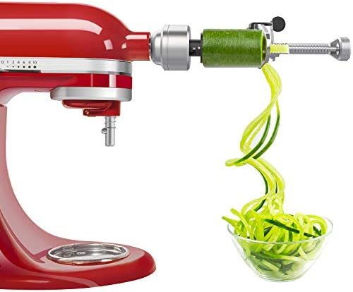 Bestand Spiralizer Attachment 5 Blades Compatible with KitchenAid Stand Mixer Comes with Peel product image