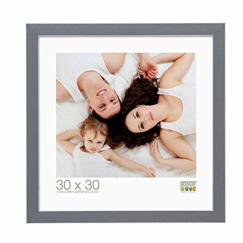 Deknudt Frames S41VK7 Bilderrahmen 15x15 Bilderrahmen Grau, Kunststoff schmal Kunststoff Fotokader