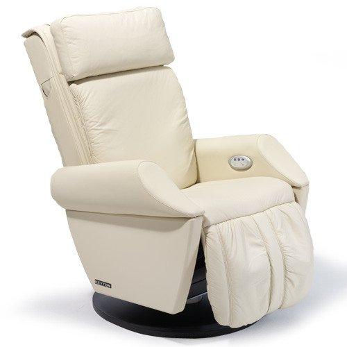 Sillón DE MASAJE | Silla de masaje de cuero beige Keyton Class - oferta de welcon. de