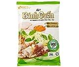 Tai Ky Rollo de arroz a vapor Mix Harina 400g - Tai Ky Rolled Rice Panqueque Harina es producida por los mejores ingredientes naturales (harina de arroz, almidón de tapioca)