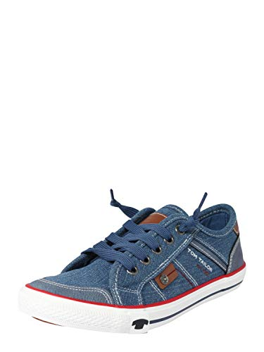 TOM TAILOR Jungen 6970001 Sneaker, Blau (Jeans 00270), 40 EU