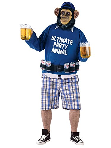 Ultimate Party Animal Adult Costume - Plus Size