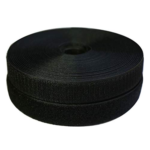 Learn More About Vkey 25mm(1) Width 10 Meters Sew-On Hook and Loop Fastener Tape Nylon Strips Fabri...