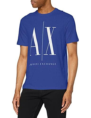 ARMANI EXCHANGE Icon T T-Shirt, Blu (Saint Tropez 1531), X-Small Uomo