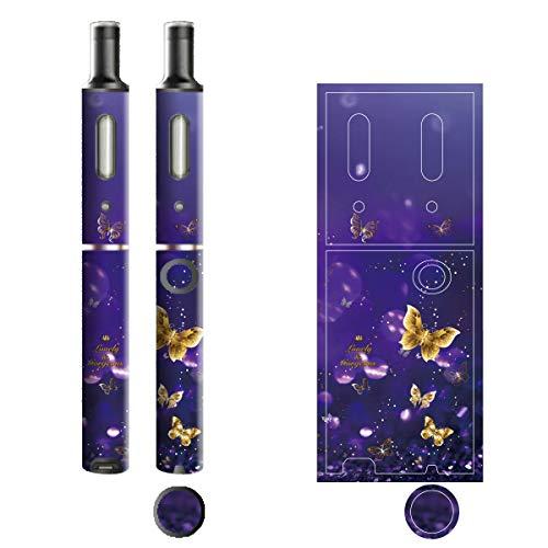 電子たばこ タバコ 煙草 喫煙具 専用スキンシール 対応機種 プルームテックプラスシール Ploom Tech Plus シール Lovely & Gorgeous 18バタフライ 22-pt08-ca0634