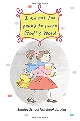 Sunday School Notebook for Kids