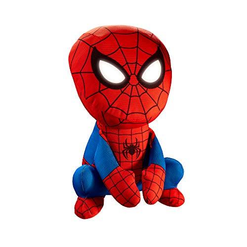 Spider-Man 14314 GoGlow-Nachtlicht und kuscheliges Spielzeug, Rot/Blau