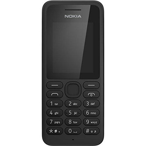 Nokia A00021556 130 DS RM-1035 NV DE Handy (4,5 cm (1,8 Zoll) Bildschirm, Dual-SIM, portabler Video-/Musikplayer, Radio, Taschenlampe) schwarz