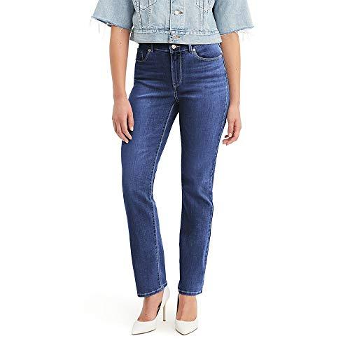 Levi's Women's Classic Straight Jeans, Lapis Dark Horse, 30 (US 10) R