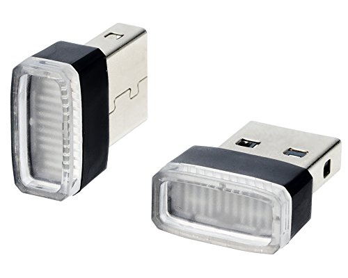 星光産業 車内用品 イルミライト EXEA USBイルミカバー ブルーLED EL-168
