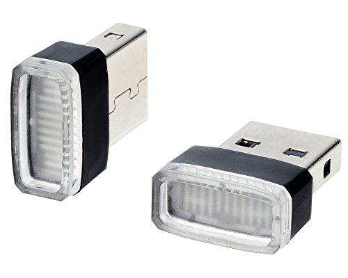 星光産業 イルミライト 車用 USBイルミカバー ブルーLED EL-168