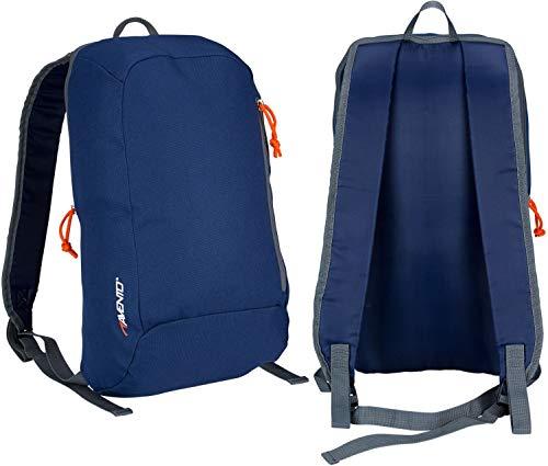 Avento 21ra Basic Sac à Dos Taille Unique Navy Blue/Grey/Fluorescent Orange