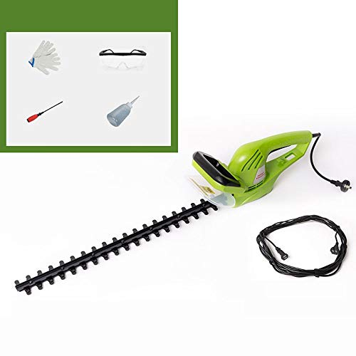 Fantastic Deal! SJXHDPP Yjyzdllj Green 600W 19-Inch Corded Electric Hedge Trimmer, Battery and Charg...