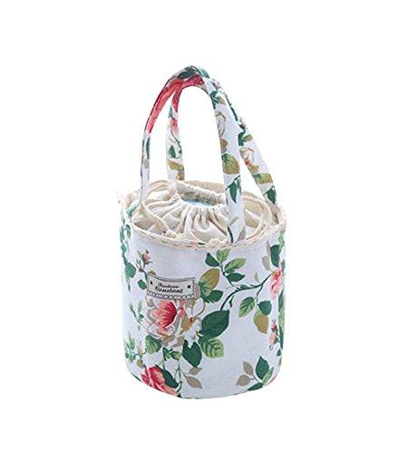 Pivoine, Kids Gift Grande Capacité Lunch Bag Heat De Retenue