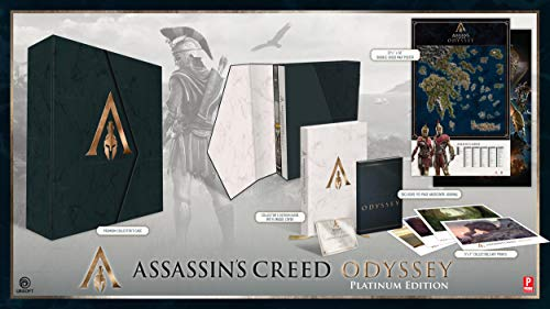 Assassin's Creed Odyssey: Official Collector's Edition Guide: Official Platinum Edition Guide