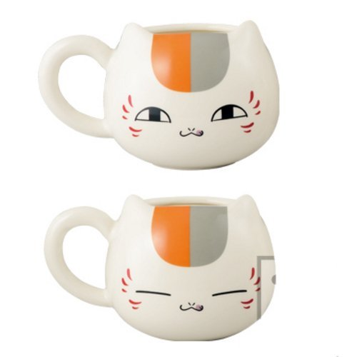 Natsume's Book of Friends Nyanko Sensei cafe face type mug cafe all two sets began