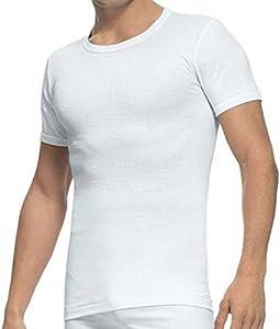 Abanderado - Abanderado Pack x2 Camisetas Manga Corta Hombre CLÁSICA 100% Algodón - BLANCO, 60/2X