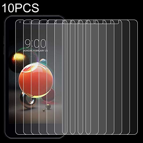 Jiangym Mobile Phone Tempered Glass Film 10 PCS 0.26mm 9H 2.5D Tempered Glass Film for LG K9 Tempered Glass Film