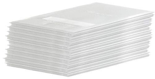 Rosenstein & Söhne Folien: 100 Profi-Folienbeutel für Balken-Vakuumierer, 15 x 20 cm (Vakuumierer-Beutel)