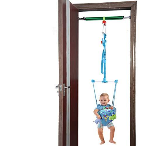 Saltador bebe Bebé Umbral Jumper con una barra transversal, Baby umbral de rebote Salto Paseo ejercitador interior al aire libre for los juguetes de los niños del niño de los niños, la puerta del puen