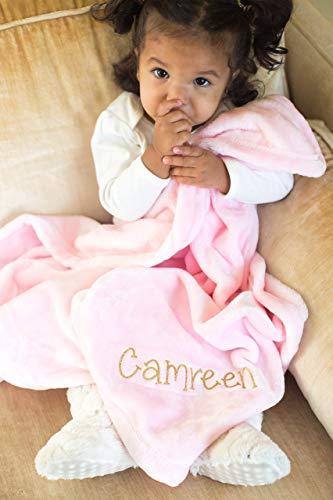 بطانية شخصية باللون الوردي