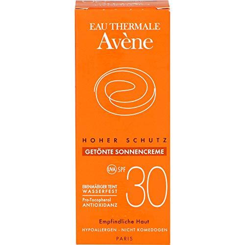 Avène getönte Sonnencreme SPF 30 Creme, 50 ml Creme