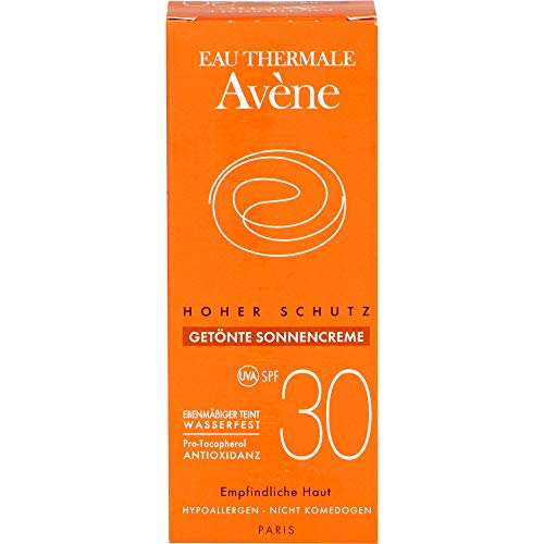 AVENE SunSitive Sonnencreme SPF 30 getönt 50 ml Creme