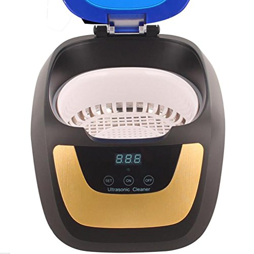 Display Digitale Pulitore Ad Ultrasuoni Con Cesto E CD Supporto, Per Gioielli, Dischi, Orologi, Occhiali, Dentiere, Testine Di Stampa, Ecc(750 Ml)