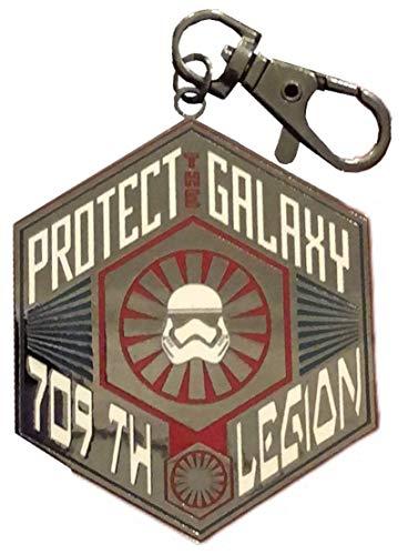 Disney Star Wars Galaxy's Edge Schlüsselband Medaille Schlüsselanhänger – First Order 709th Stormtrooper Legion Protect The Galaxy
