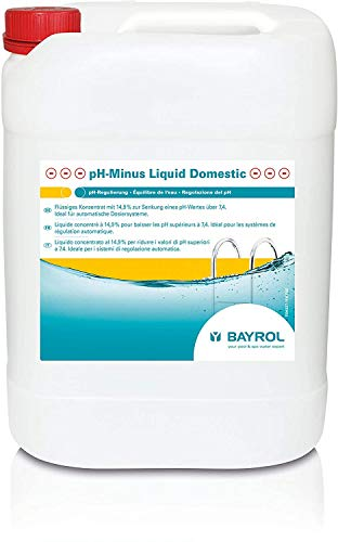 Bayrol 7594314 - Reductor de pH 25 kg pH-Minus líquido