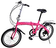 "Bicicleta Plegable Metric 20"" Shimano 7 velocidades Toumey Sistem."